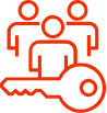 multi tenant icon